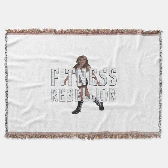TOP Fitness Rebellion Throw Blanket