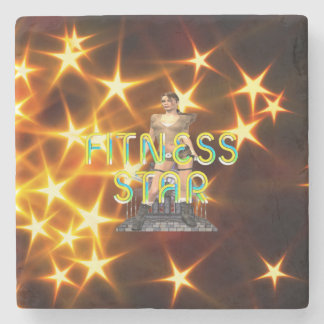 TOP Fitness Star Stone Coaster