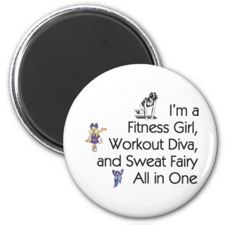 TOP Fitness Triple Play 2 Inch Round Magnet
