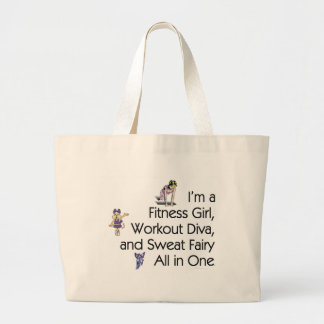 TOP Fitness Triple Play\ Large Tote Bag