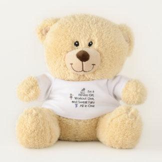 TOP Fitness Triple Play Teddy Bear