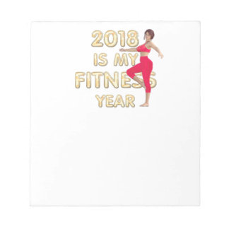 TOP Fitness Year Notepad