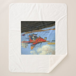 TOP Flight Instructor Sherpa Blanket