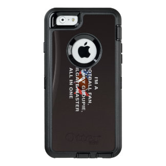 TOP Football All in One OtterBox iPhone 6/6s Case