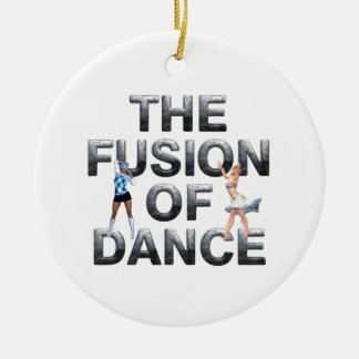 TOP Fusion of Dance Ceramic Ornament