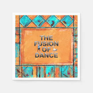 TOP Fusion of Dance Paper Napkins