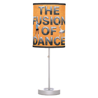 TOP Fusion of Dance Table Lamp