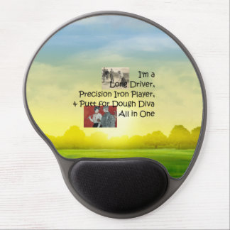 TOP Golf Diva All in One Gel Mouse Pad