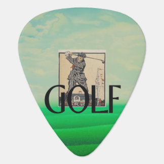 TOP Golf Old School Guitar Pick