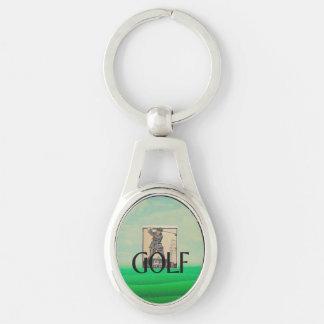 TOP Golf Old School Keychain