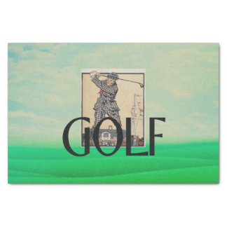 TOP Golf Old School Tissue Paper