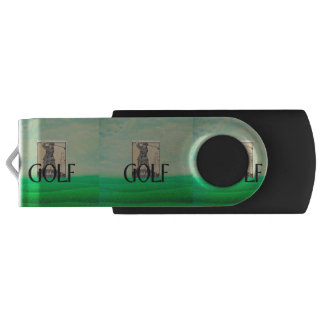 TOP Golf Old School USB Flash Drive
