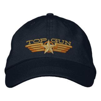 Top Gun Badge Pilot Wings Embroidered Hats