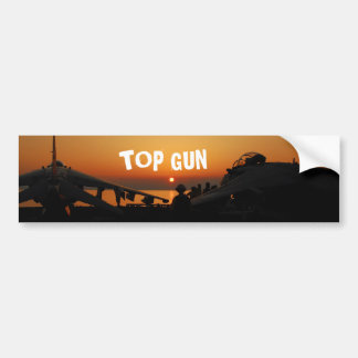 TOP GUN BUMPER STICKER
