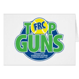 Top Guns Greetings Greeting Card