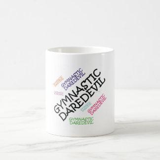 TOP Gymnastics Daredevil Basic White Mug