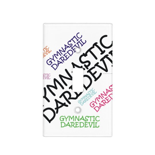 TOP Gymnastics Daredevil Light Switch Cover