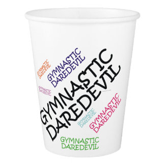 TOP Gymnastics Daredevil Paper Cup