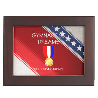 TOP Gymnastics Dreams Keepsake Boxes