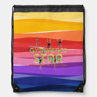 TOP Gymnastics Star Drawstring Bag