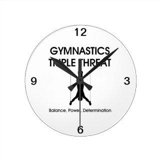 TOP Gymnastics Triple (M) Round Clock