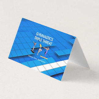 TOP Gymnastics Triple Threat Business Card