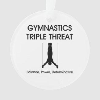 TOP Gymnastics Triple Threat Ornament