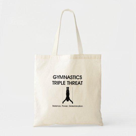 TOP Gymnastics Triple Threat Tote Bag