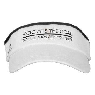 TOP Gymnastics Victory Slogan Visor
