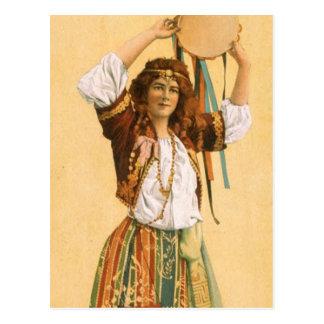 TOP Gypsy Postcard