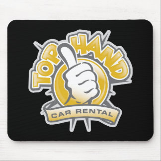 Top Hand Mouse Pad