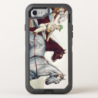 TOP Harness Racing OtterBox Defender iPhone 7 Case