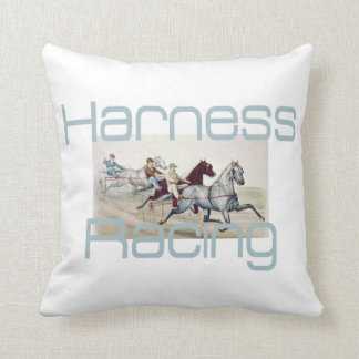 TOP Harness Racing Throw Pillow