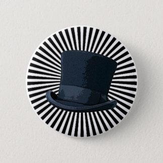Top Hat! 2 Inch Round Button