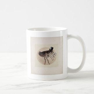 Top Hat and Cane Flea Coffee Mug