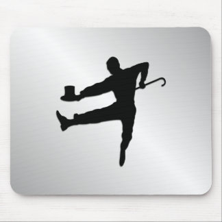 Top Hat and Cane Tap Dancer Mouse Pad