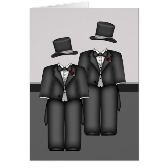 Top Hat and Tails Card