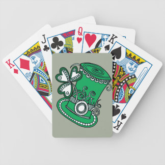 Top Hat Bicycle Playing Cards