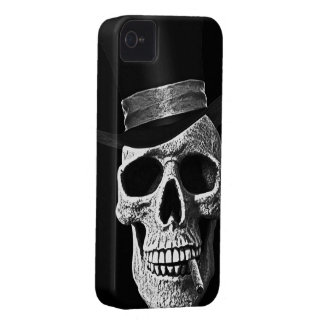 Top hat skull Case-Mate iPhone 4 case