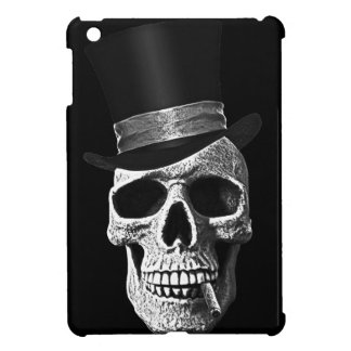 Top hat skull iPad mini cover