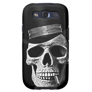 Top hat skull samsung galaxy s3 covers