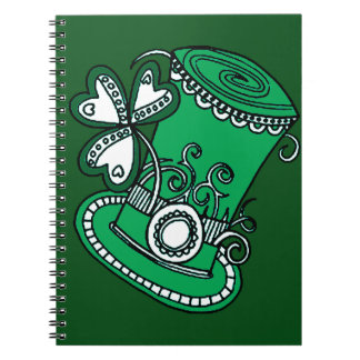 Top Hat Spiral Notebook