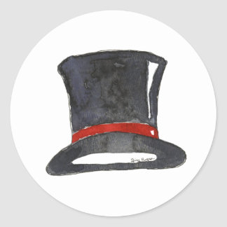 Top Hat Sticker