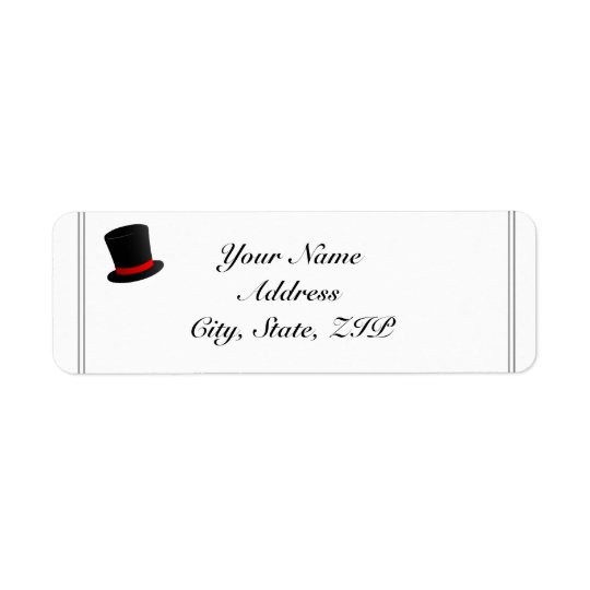 Top Hats and Bow Ties Return Address