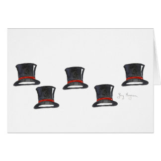 Top Hats Cards