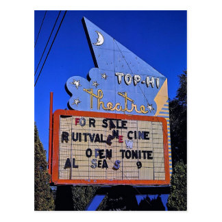 Top-Hi Drive-In Theater, Toppenish, Washington Postcard