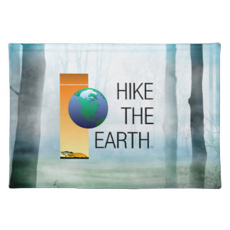 TOP Hike the Earth Placemat