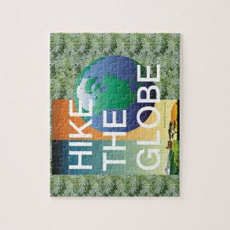 TOP Hike the Globe Jigsaw Puzzle