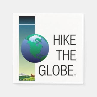 TOP Hike the Globe Paper Napkin