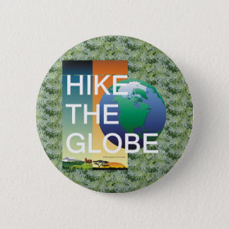 TOP Hiking the Globe 2 Inch Round Button